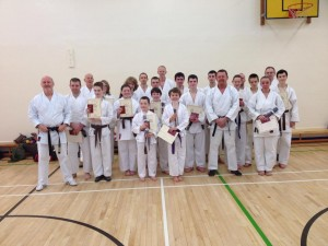 Senior Grading 6th Dec 2015