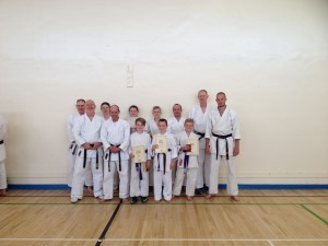 Senior Grading 6th June 2015